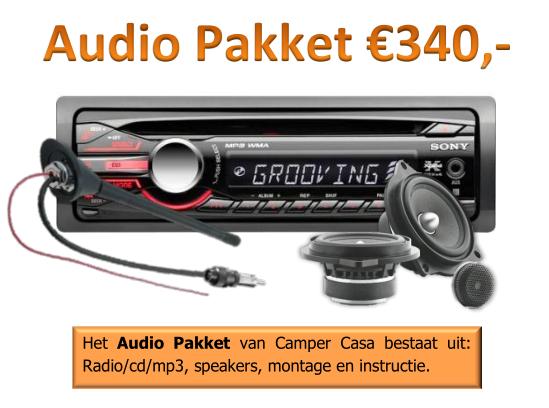 Audiopakket