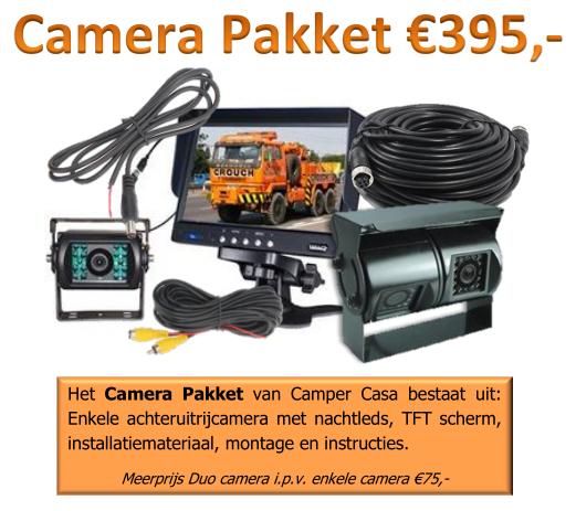 camera pakket